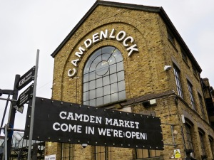 Welcome to Camden Market.