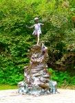 The Peter Pan Statute in Kensington Gardens.