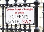 The London neighborhood of Queen's Gate.