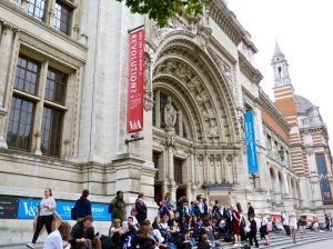 The Victoria and Albert Museum featuring art and design.