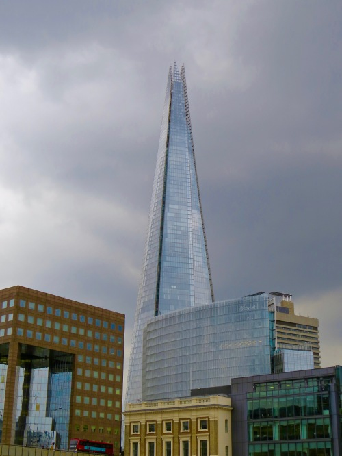 The Shard, also known as Shard London Bridge.