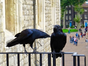 "Two of the six ""Guardians of the Tower""."