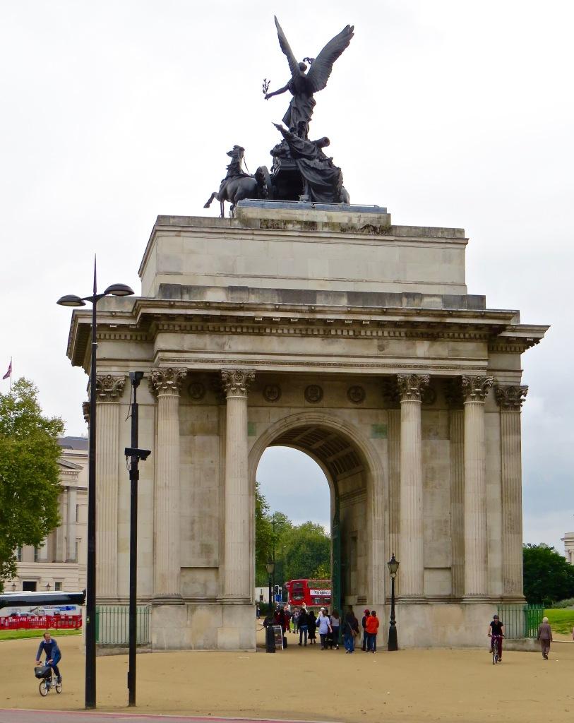 The Wellington Arch.