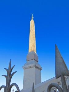 Obelisk in the Piazza Trinità dei Monti.