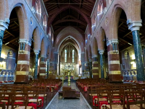 The Interior of All Saints' Anglican Church.