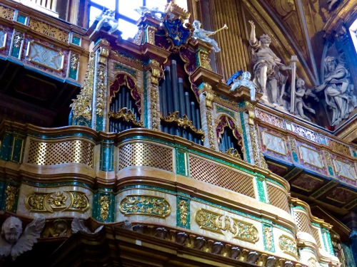 The Pipe Organ Loft.