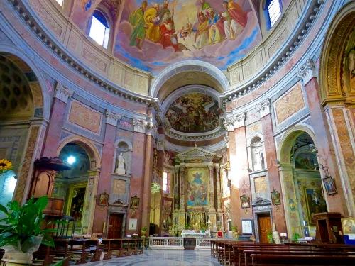 The Interior of Basilica S. Giacomo.