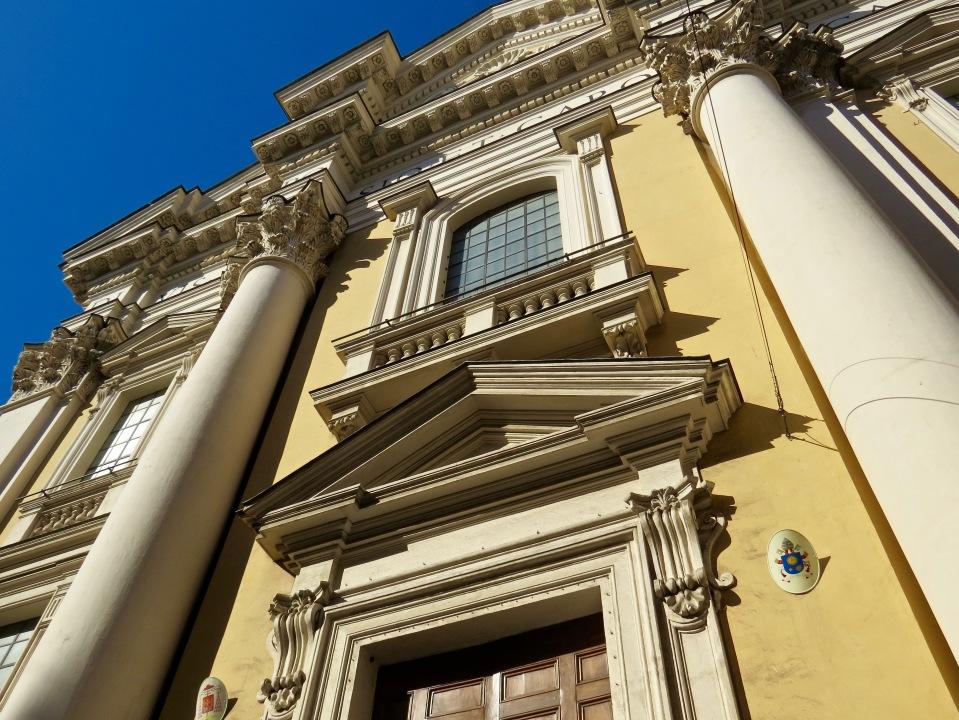The exterior of Basilica dei SS Ambrogio E Carlo.