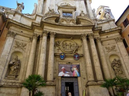 The Exterior of Chiesa di San Marcello al Corso.