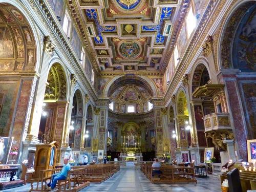 The Interior of Chiesa di San Marcello al Corso.