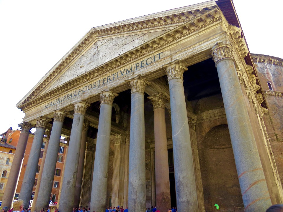 The Pantheon in Rome.