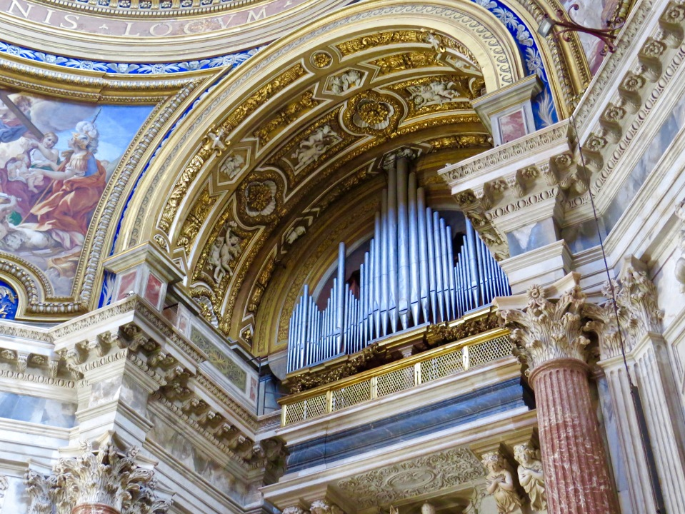 The Pipe Organ of Chiesa di Santi' Agnese in Agone.