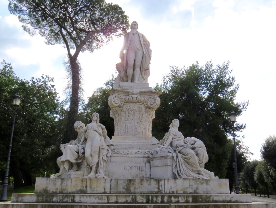 Monument to Goethe by Gustav Eberlein.