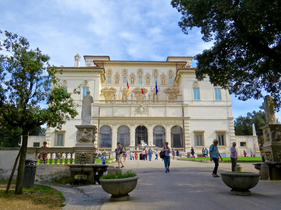 The Galleria Borghese.