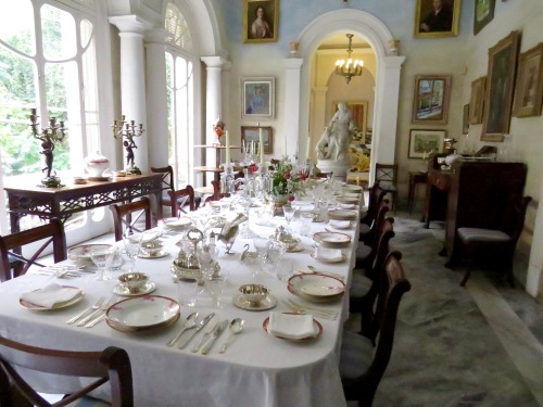 The Summer Dining Room.