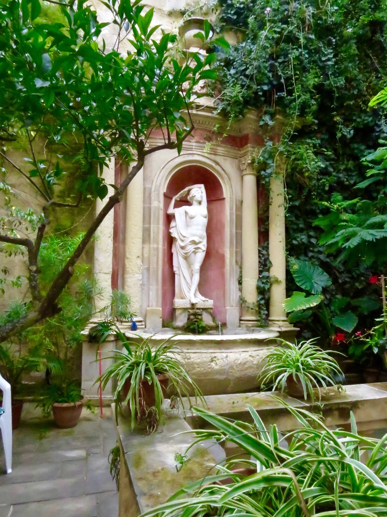 The Garden at Casa Rocca Piccola.