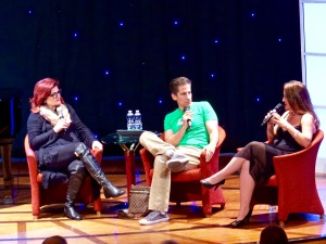 Faith Prince, Seth Rudetsky and Jennifer Simard discuss life in the theatre.