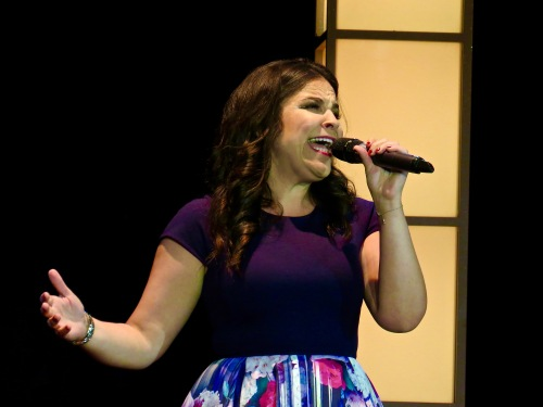 Lindsay Mendez bringing down the house.
