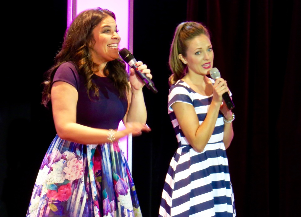 Lindsay Mendez and Laura Osnes team up to recreate a number from Grease.