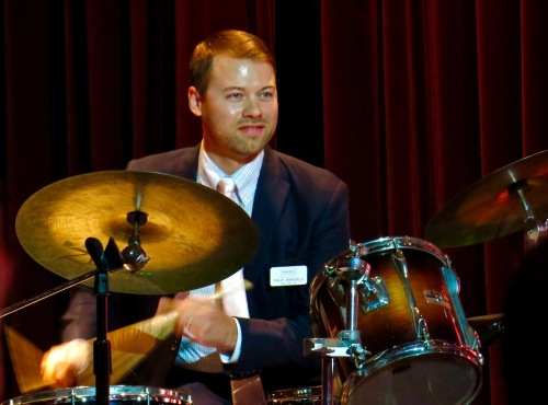 Philip Wakefield on drums.