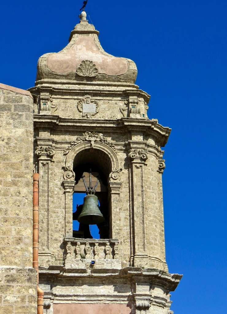 The bell tower of Chiesa di San Giuliano, Erice.
