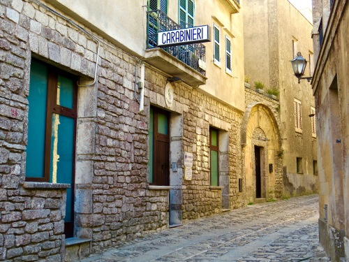 The simple, quaint charm of Erice.