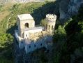 Looking down on the Torretta Pepoli, part of Venus Castle.