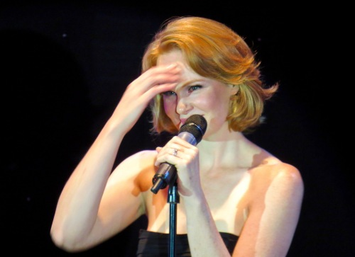Kate Baldwin during Broadway On the High Seas 7.