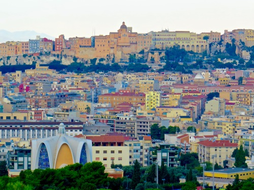Cagliari, Sardinia, Italy.