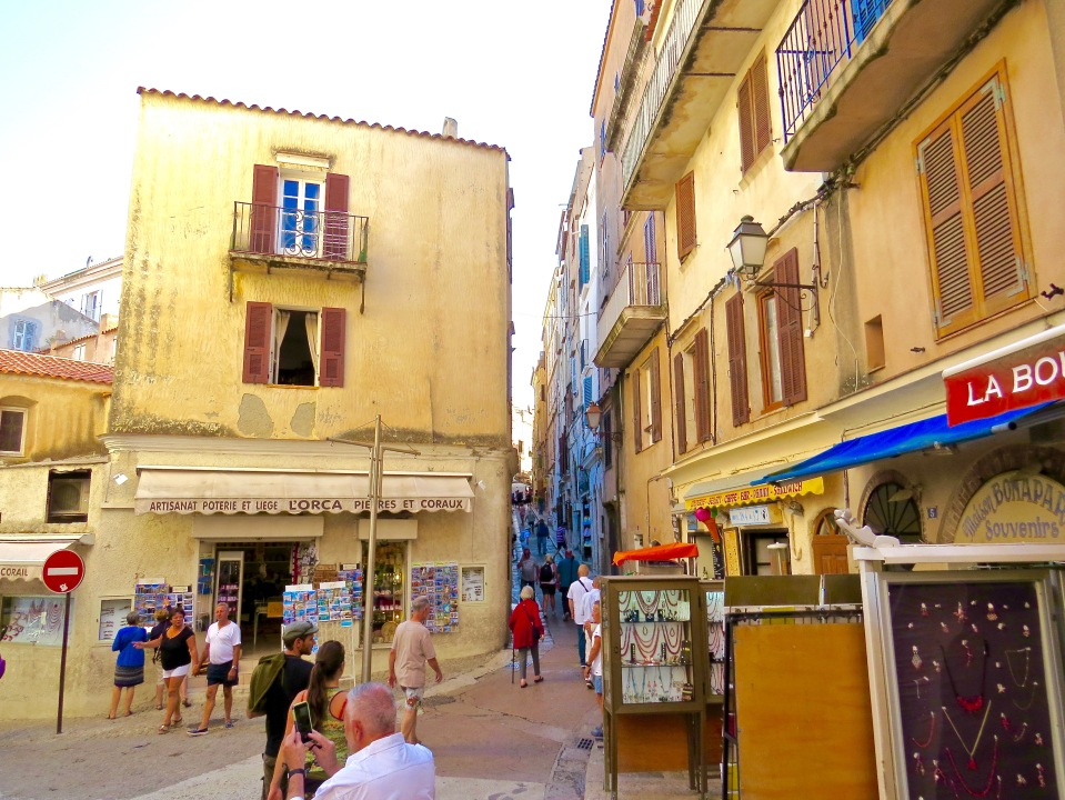On the street in Bonifacio.