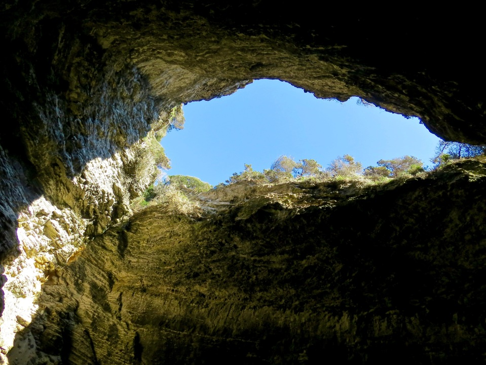 Inside the Cave of Sdragonato.