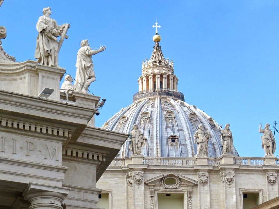 St. Peter's Basilica in ROme.