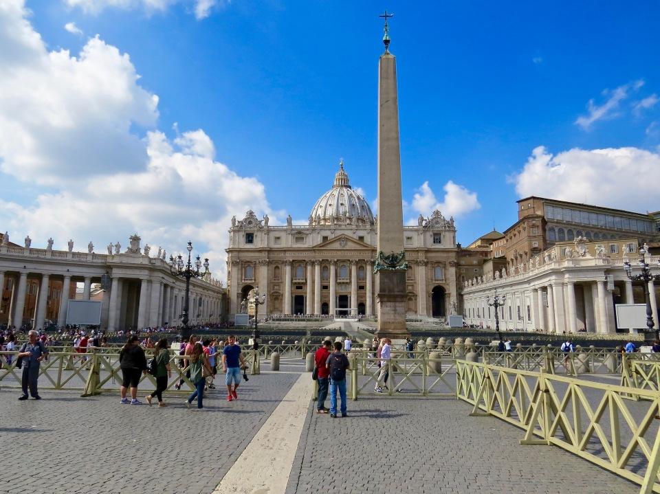St. Peter's Square, Vatican City, Rome.