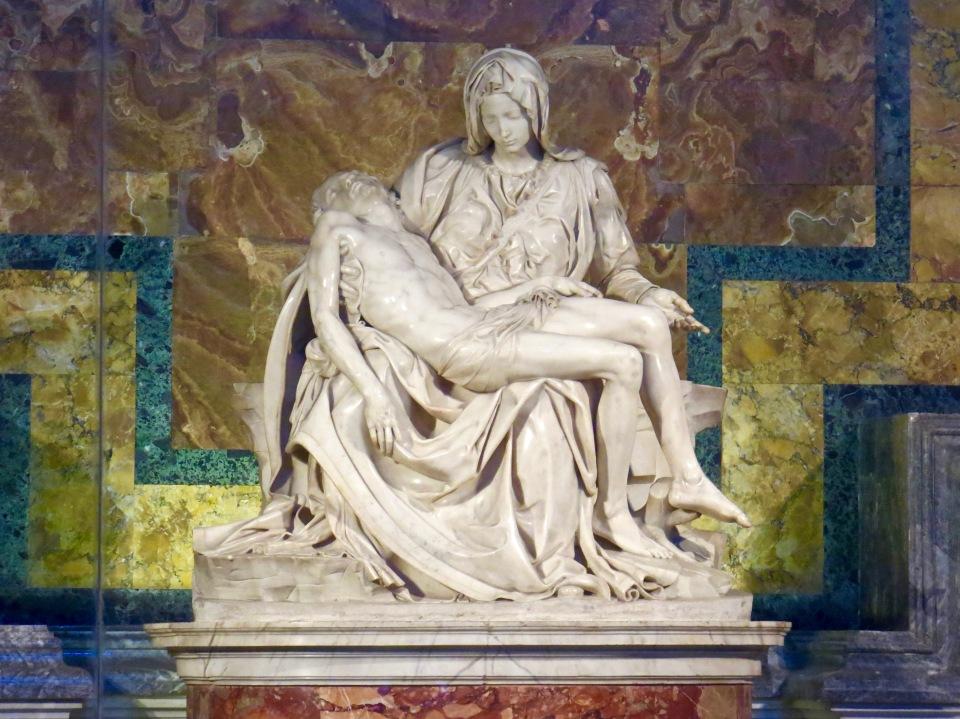 Michaelangelo's Pieta, 1498.