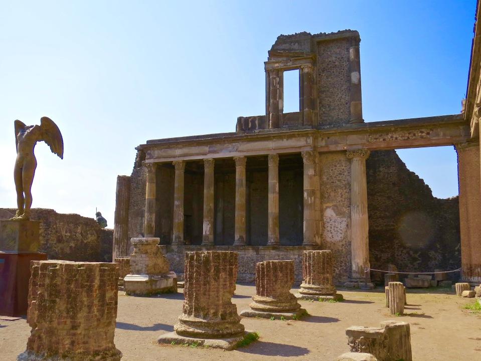 Ruins of Pompeii.