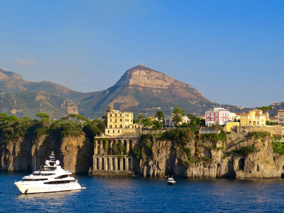 Sorrento from our ship.