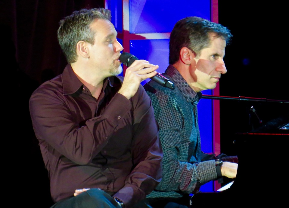 Adam Pascal with Seth Rudetsky.