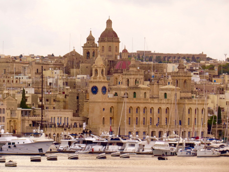Malta from our ship.